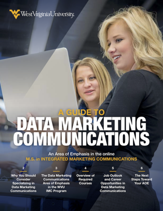 a guide to data marketing communications