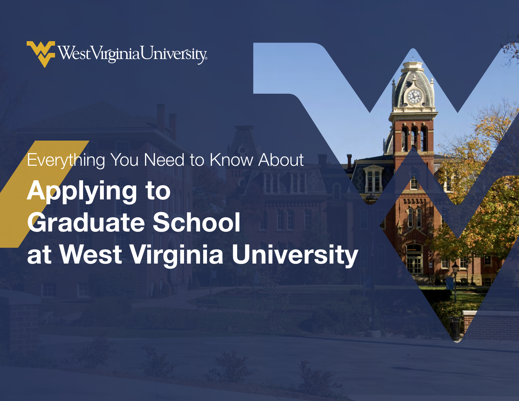 WVU Applying to Grad School eBook FINAL
