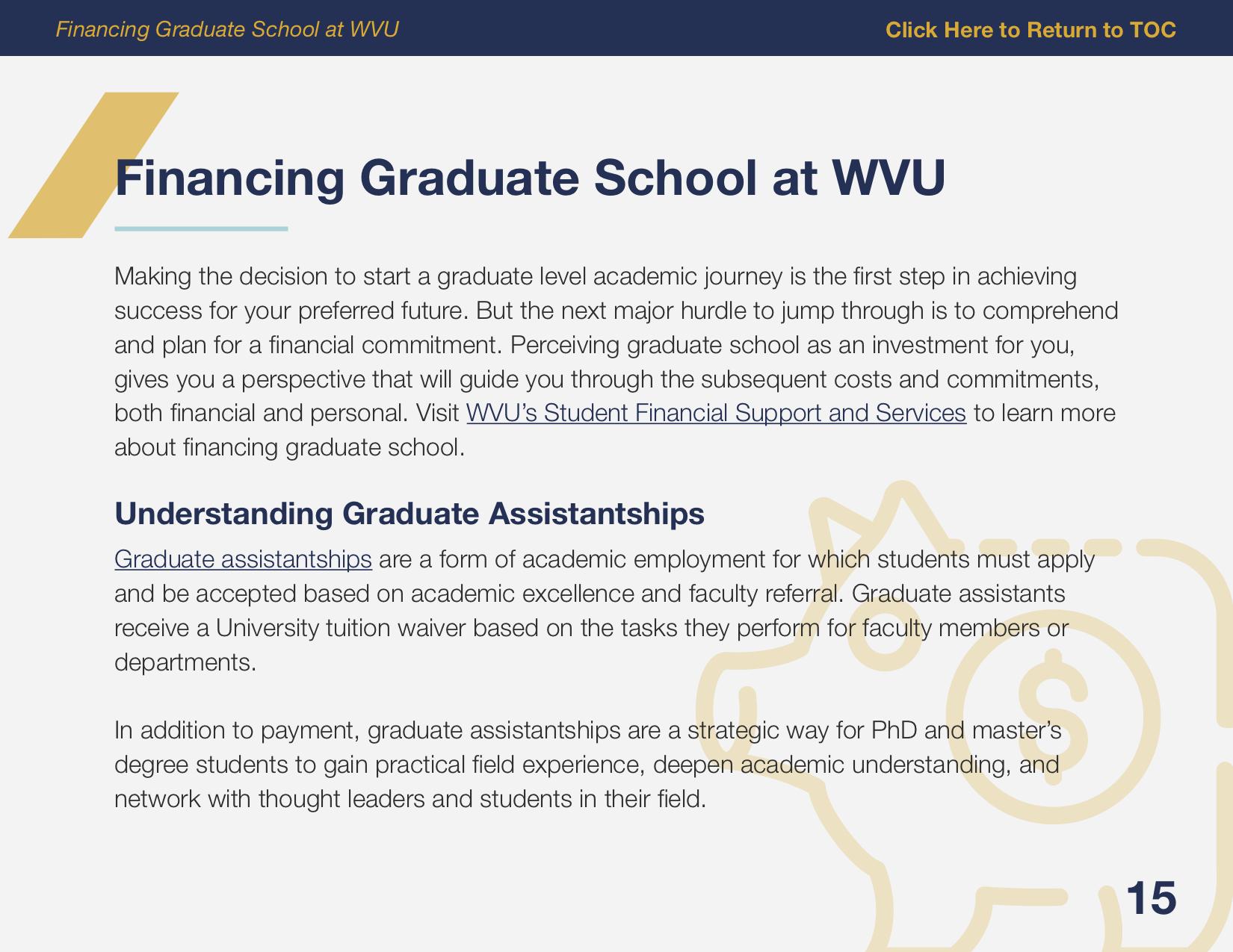 WVU Applying to Grad School eBook P15 FINAL